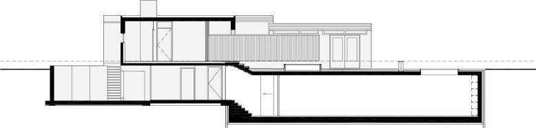 modern villa located in Rotterdam, Holland