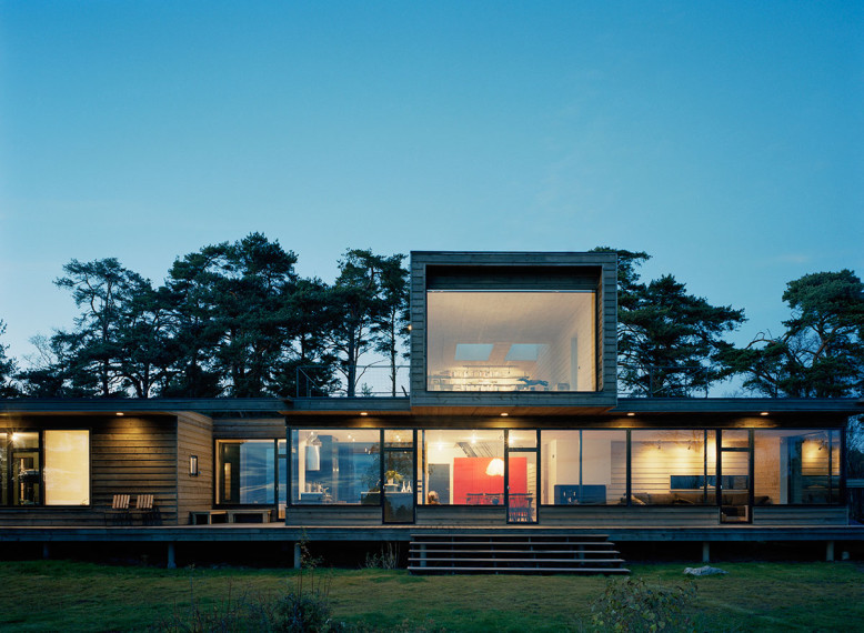Summer house in Sweden with beautiful sea views