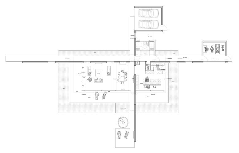 Stylish five bedroom house