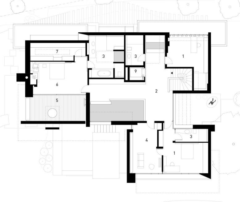 Luxury House by Alexander Brenner Architekten