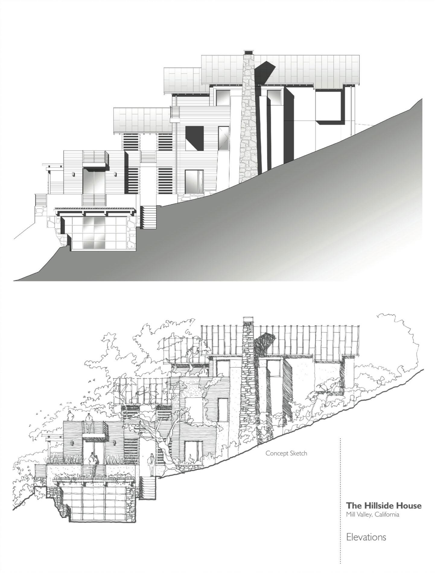 Hillside House By Sb Architects Homedezen