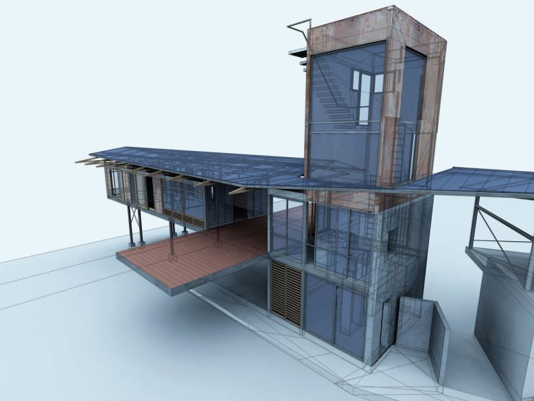 Contemporary House by Datumzero Design