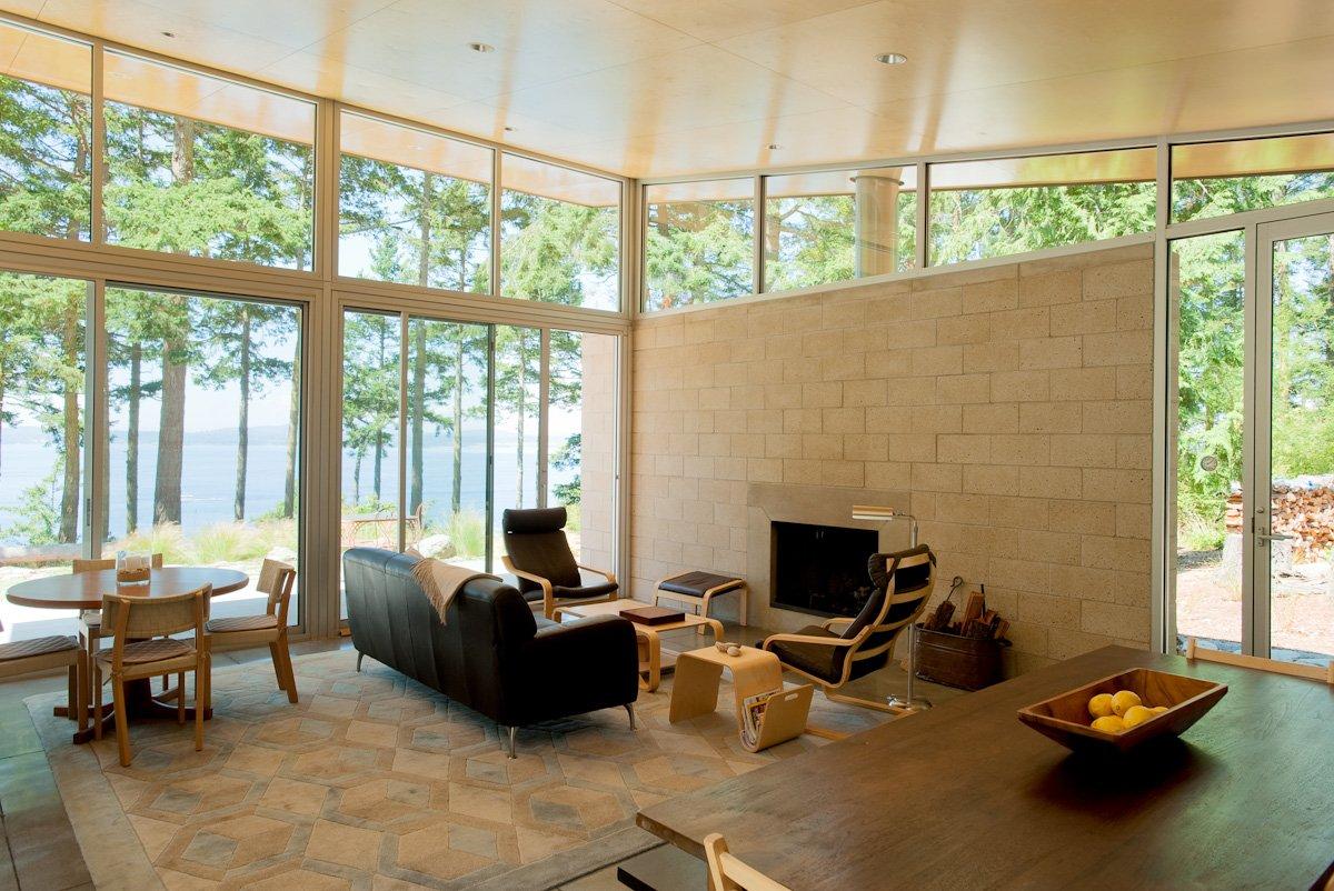 Lopez Island Cabin By Stuart Silk Architects Homedezen