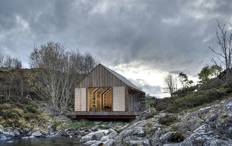 Naust Paa Aure by TYIN tegnestue Architects