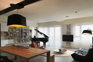 Taiwanese Interior by WCH Interior