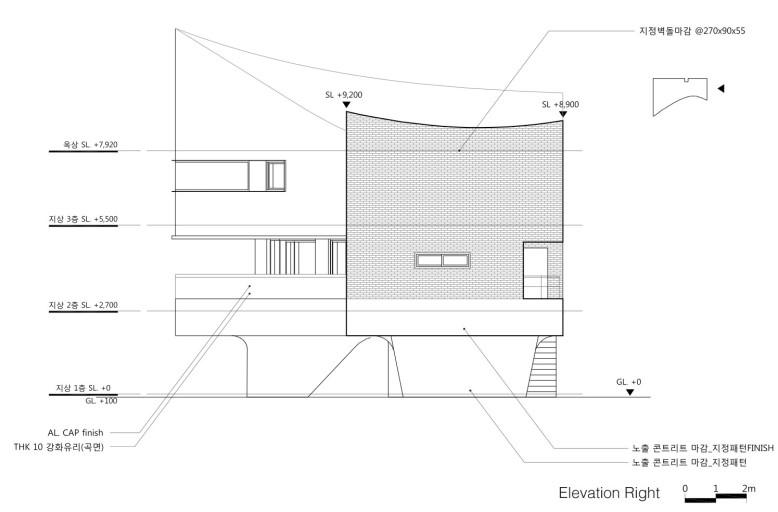 2,005 square foot modern residence