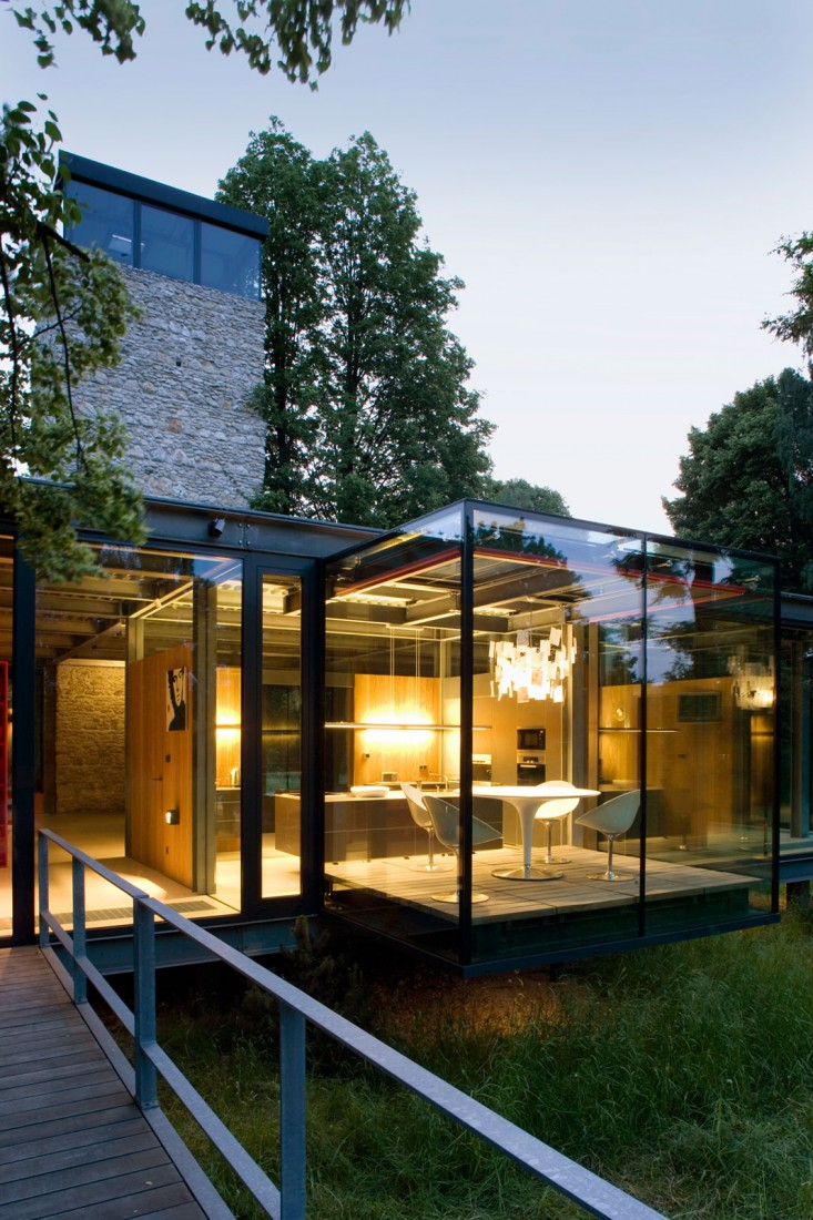 Glass House in Poland