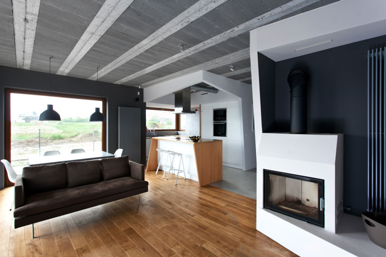 Beam & Block House by modelina architekci