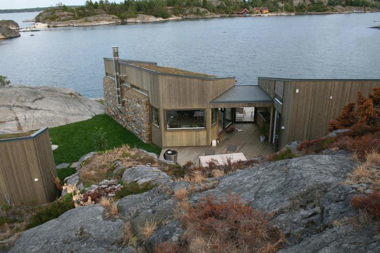 Buholmen Cabin by Skaara Arkitekter AS