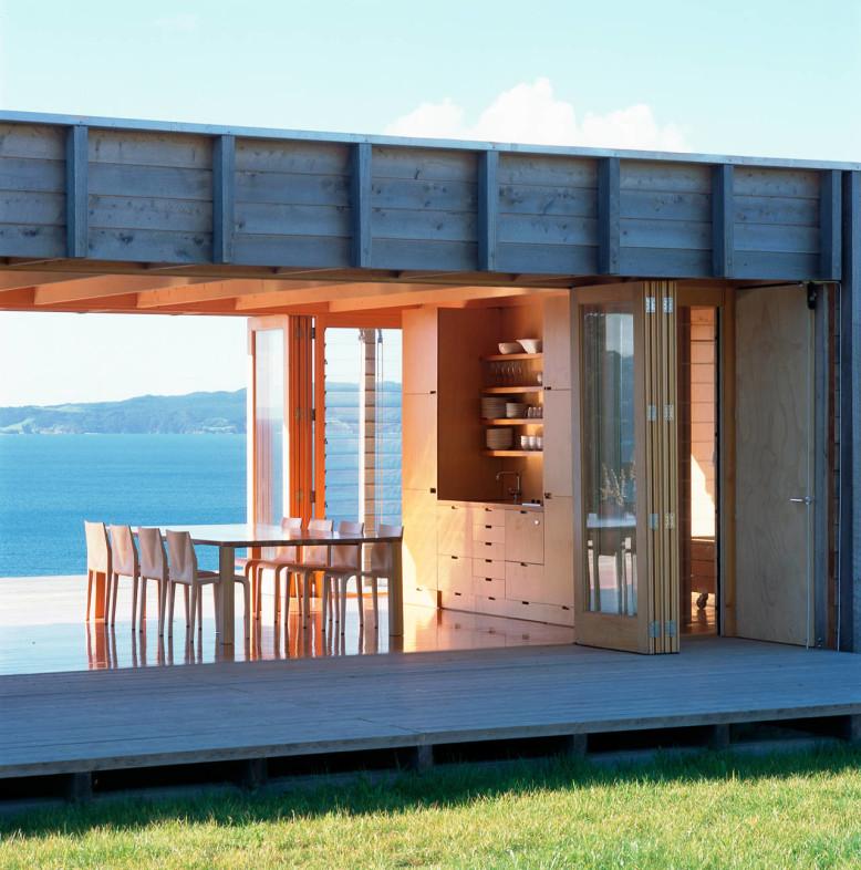 Coromandel Bach by Crosson Clarke Carnachan Architects