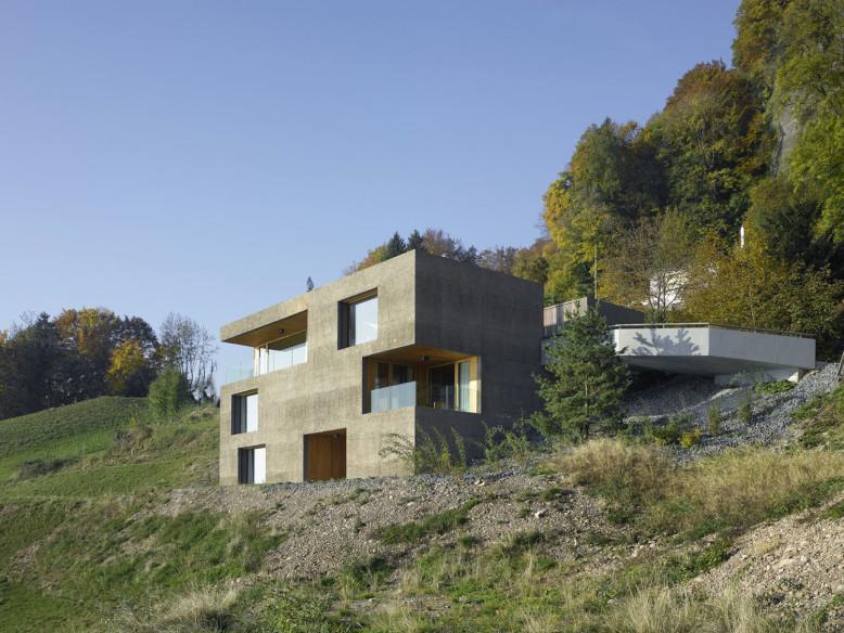 Home in Vitznau by Lischer Partner Architekten Planer