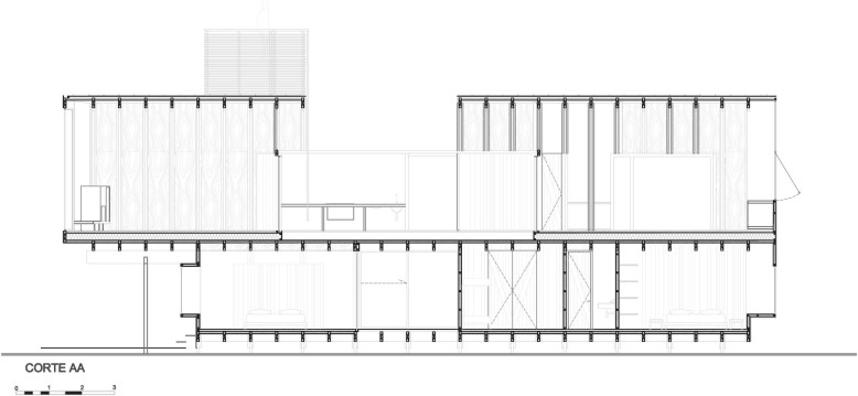 Modern House by Nicolás del Rio and Max Núñez