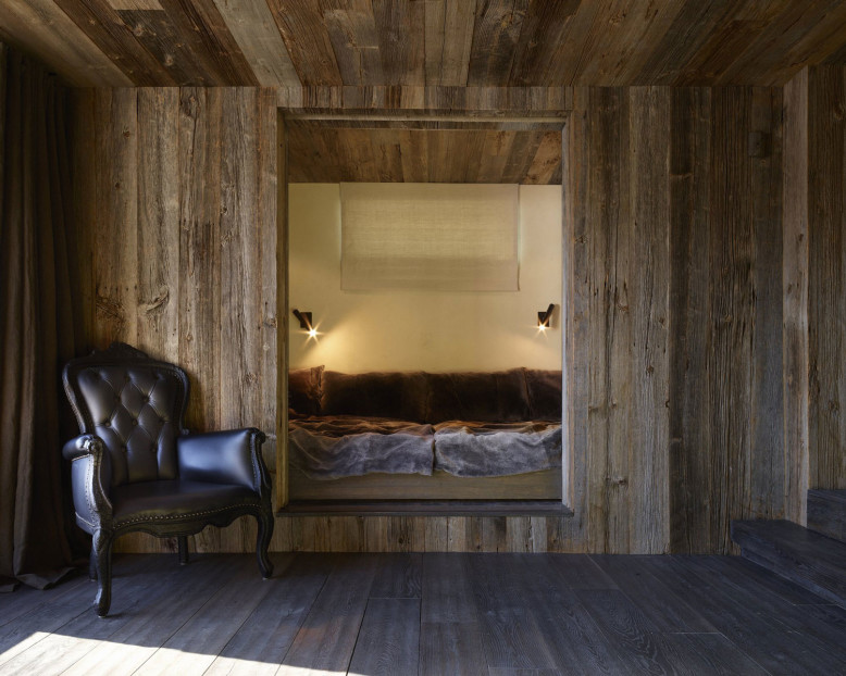 Rustic Chalet by Oppenheim Architecture + Design