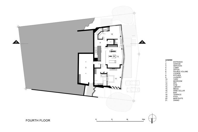 Seven-level luxury residence