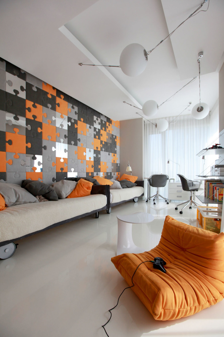 Riviera Apartment by Geometrix Design