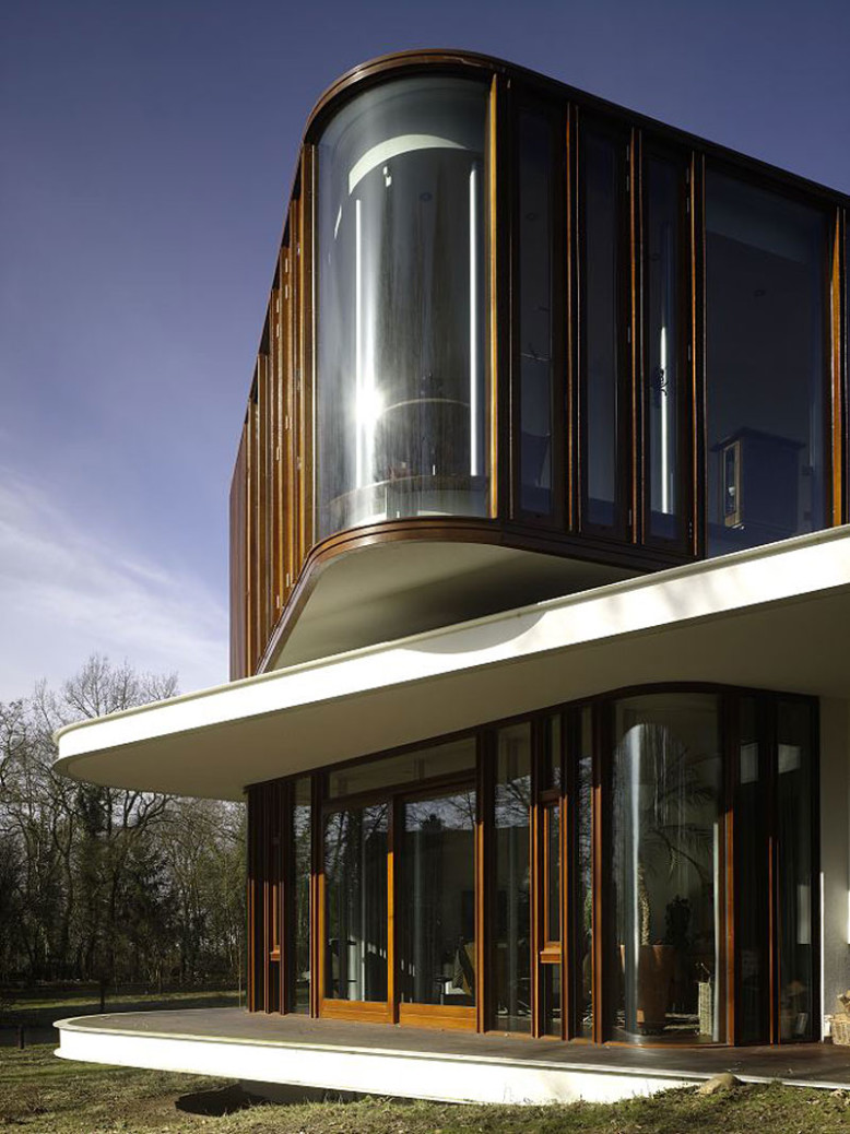 Villa Nefkens by Mecanoo Architects