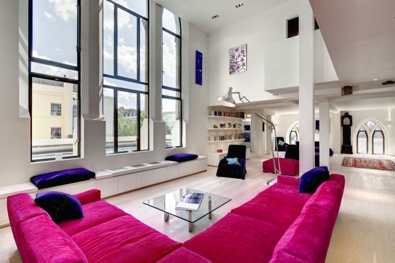Westbourne Grove Church Conversion by DOSarchitects