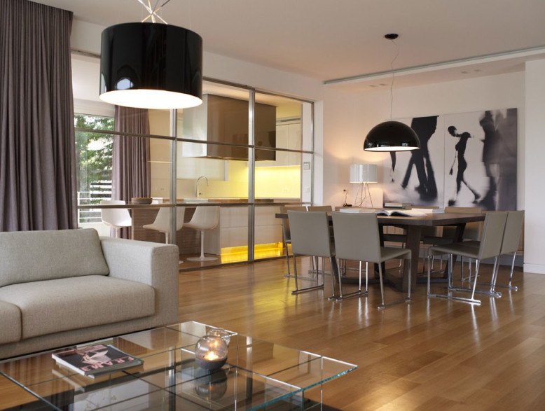 Modern Interior in Panorama-Voula by Lm Architects