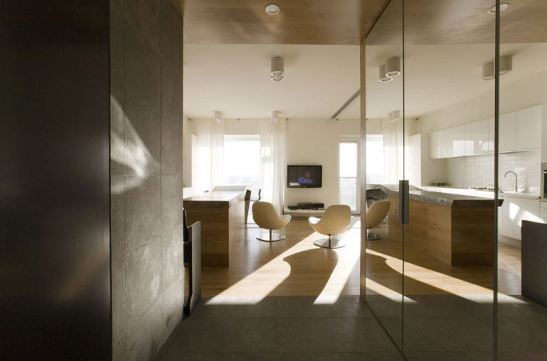 Dubrovka Apartment by Za Bor Architects