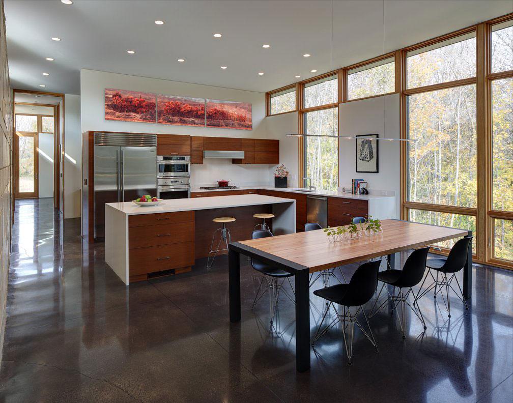 Fieldstone House by Bruns Architecture | Homedezen