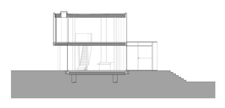 Glass House by Wiel Arets Architects