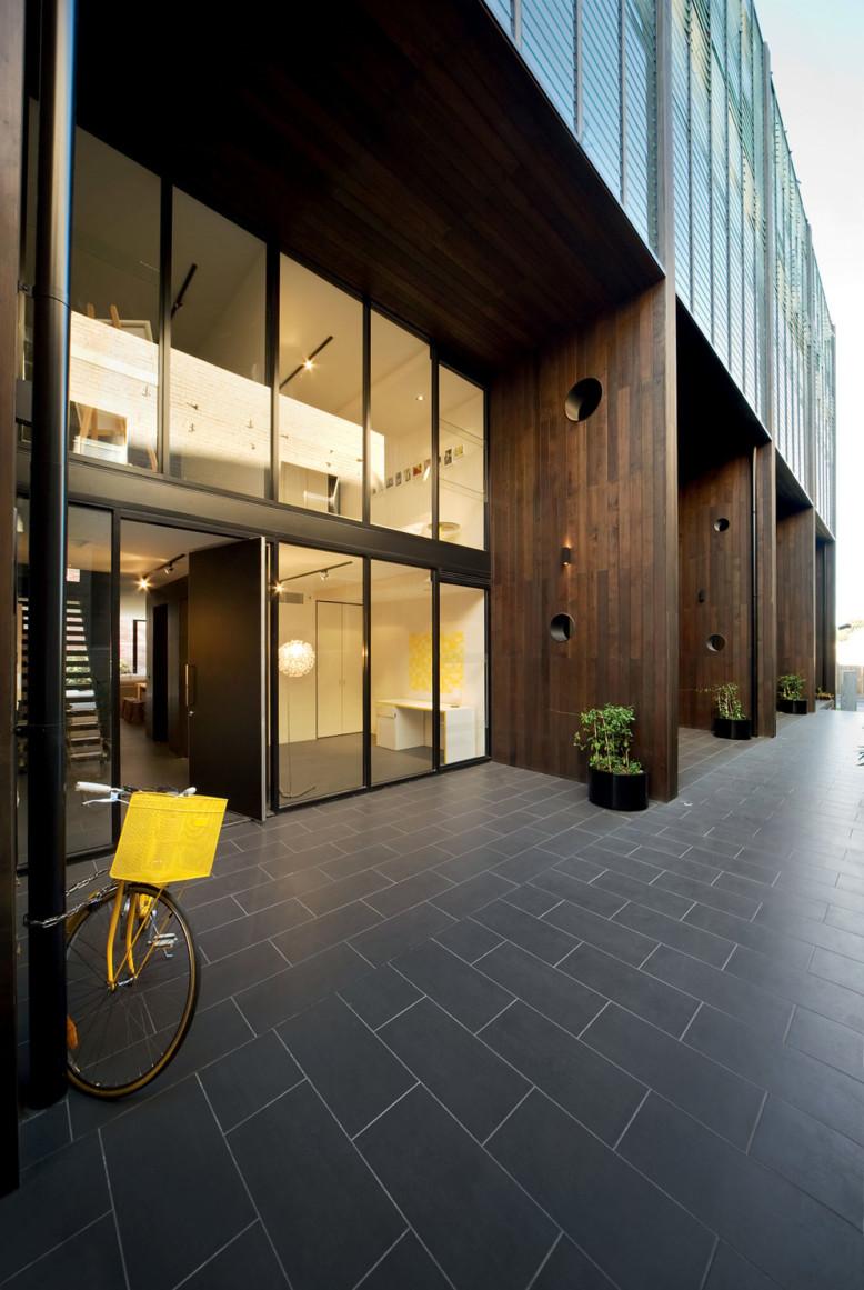 Modern 5 storey apartment building Richmond, Victoria, Australia
