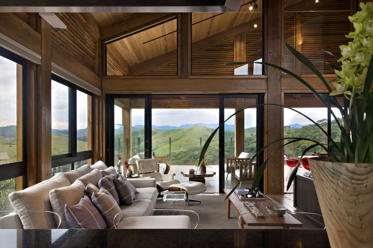 Mountain house by david guerra architecture and interior