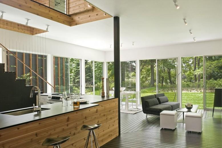 Modern relaxation retreat