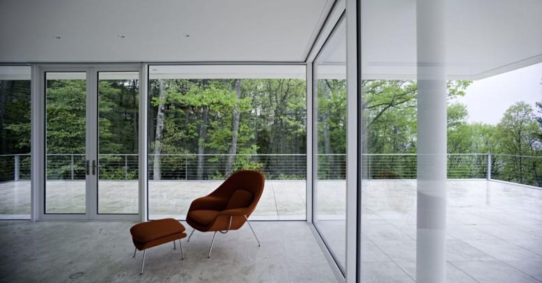 The Olnick Spanu House by Alberto Campo Baeza Architects