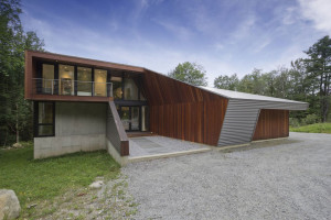 Berkshire Pond House by David Jay Weiner