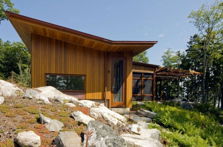Medomak River House by Anmahian Winton Architects