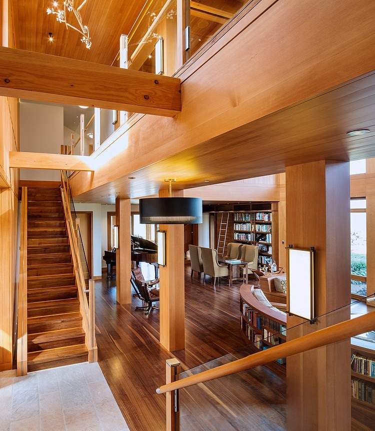 Wooden Residence by Carney Logan Burke Architects