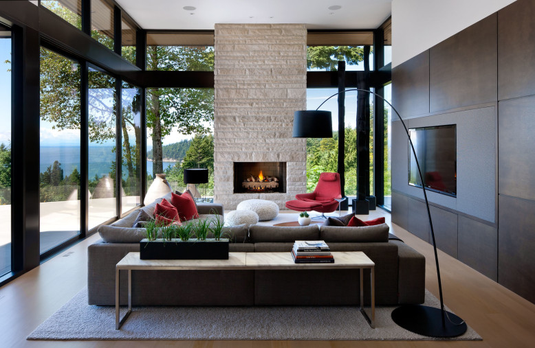 Stylish private residence in West Vancouver, Canada