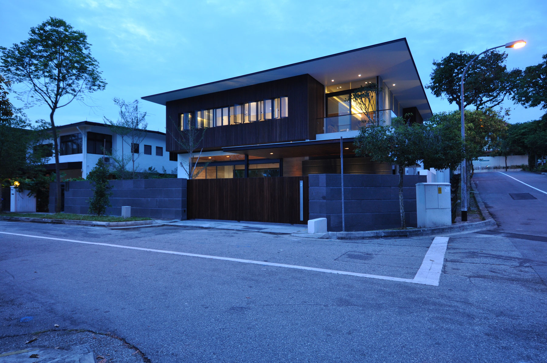 Sunset Terrace House By A Collective Homedezen