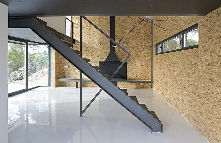 Concrete two-storey house with panoramic views in SpainConcrete two-storey house with panoramic views in Spain