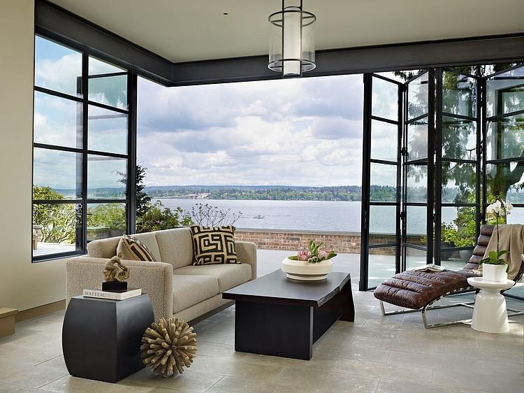 Contemporary House On Lake Washington Seattle Homedezen
