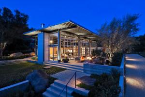 Contemporary residence in Montecito, California