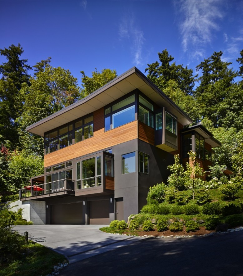 Contemporary single family home in Seattle, Washington