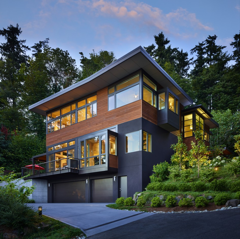 Modern Home Design Ideas Exterior: Contemporary Single Family Home In Seattle, Washington