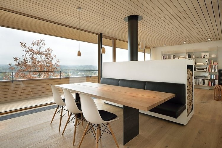 Contemporary single family house in Switzerland