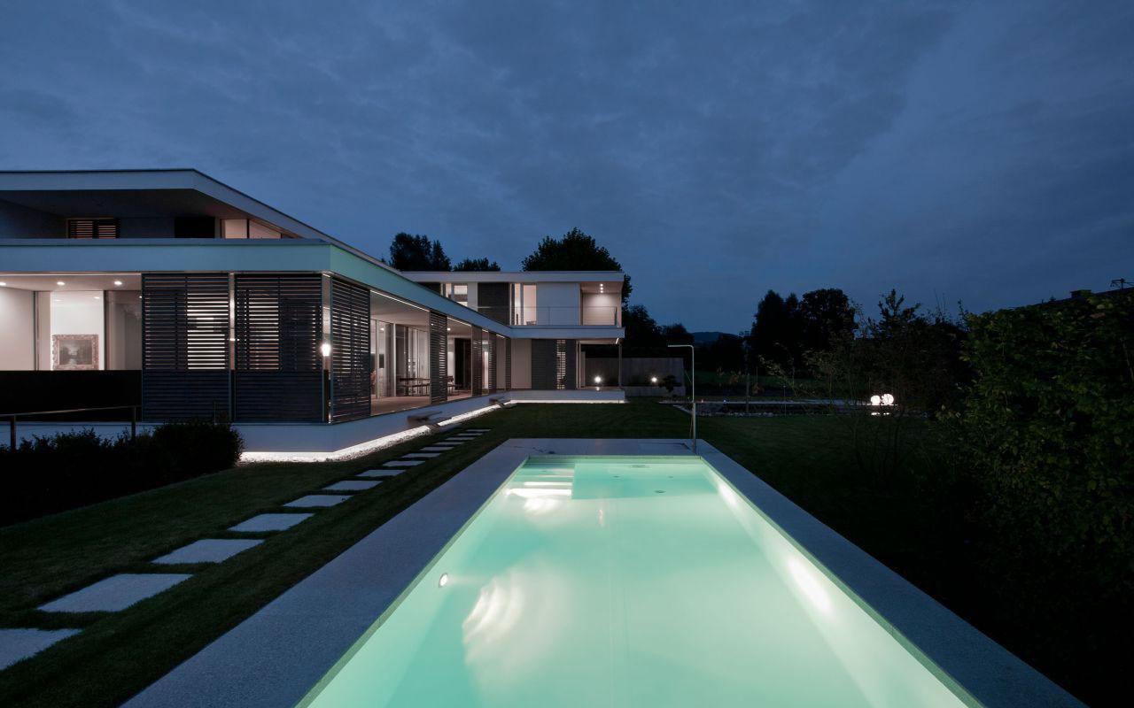 Contemporary Villa In Austria Haus Sk Homedezen