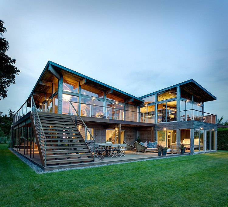 Far Pond Residence by Bates Masi Architects