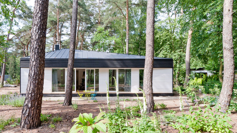 House in the Woods by Claim