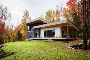 Modern Retreat in East Bolton, Quebec, Canada