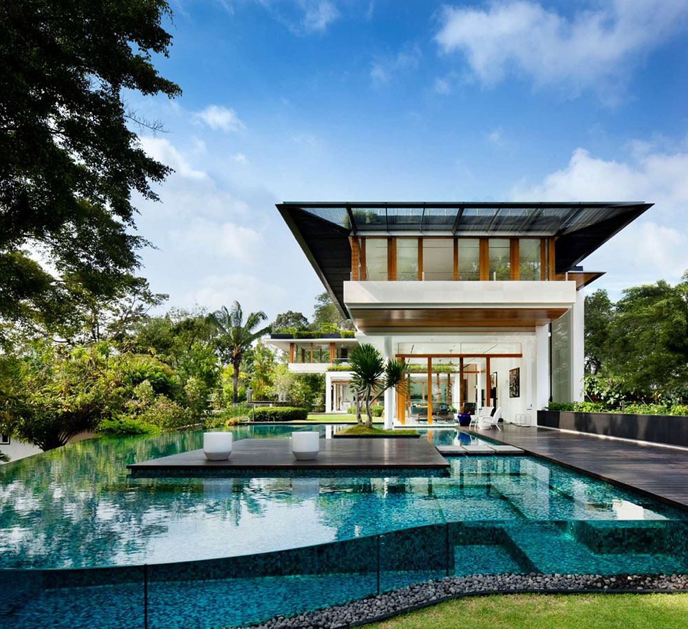 Stunning Contemporary House In Singapore Homedezen
