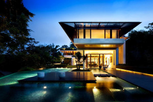 Stunning contemporary house in Singapore
