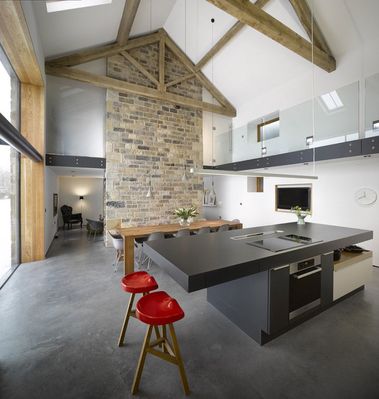 converted barn by Snook Architects