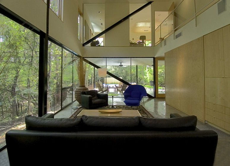 Contemporary House by Cunningham Architects