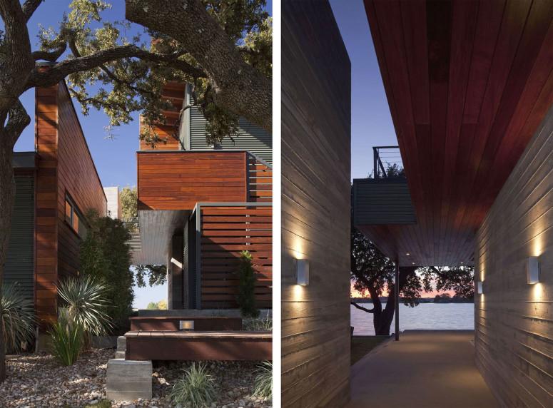Contemporary lake retreat by dick clark architecture - Maison contemporaine dick clark architecture ...
