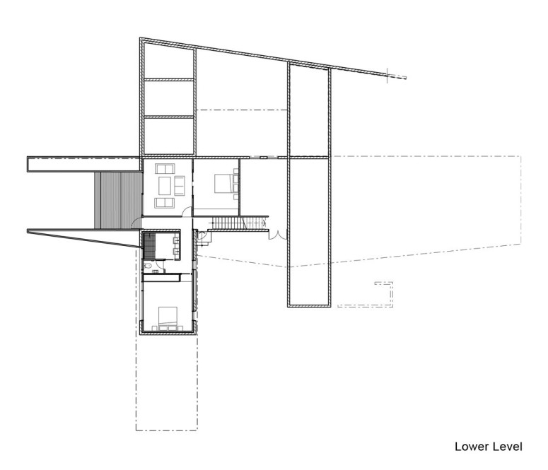Contemporary house by Jackson Clements Burrows